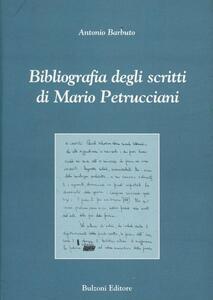 Bibliografia degli scritti di Mario Petrucciani