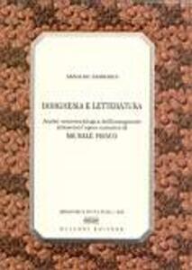 Borghesia e letteratura. Analisi semiosociologica dell'immaginario attraverso l'opera narrativa di Michele Prisco