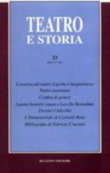 Listadelpopolo.it Teatro e storia. Vol. 23 Image