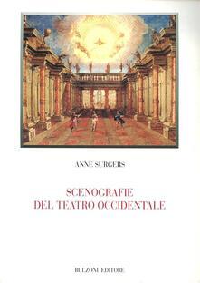 Scenografie del teatro occidentale - Anne Surgers - copertina
