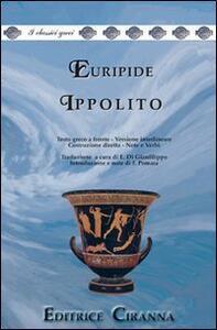 Ippolito. Versione interlineare. Testo greco a fronte