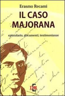 Cefalufilmfestival.it Il caso Majorana. Epistolario, documenti, testimonianze Image