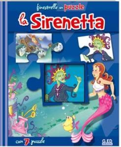 La Sirenetta. Libro puzzle