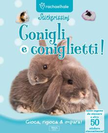 Conigli e coniglietti. Con adesivi.pdf