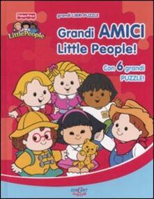 Vitalitart.it Grandi amici Little People! Libro-puzzle Image
