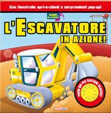 Associazionelabirinto.it L' escavatore in azione! Libro sonoro Image