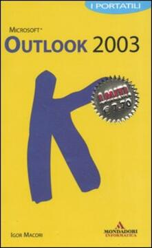 Osteriacasadimare.it Outlook 2003. I portatili Image