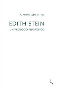 Libro Edith Stein. Un prologo filosofico Alasdair MacIntyre