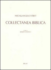 Libro Collectanea biblica Michelangelo Tábet