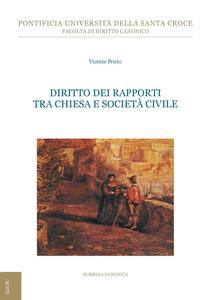 Ebook Diritto dei rapporti tra chiesa e società civile Prieto, Vicente