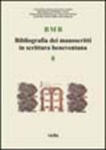 BMB. Bibliografia dei manoscritti in scrittura beneventana. Vol. 8