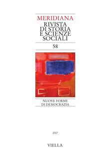 Meridiana (2007). Vol. 58 - - - ebook