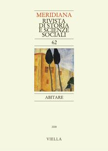 Meridiana (2008). Vol. 62 - - - ebook