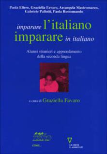 Camfeed.it Imparare l'italiano, imparare in italiano. Alunni stranieri e apprendimento della seconda lingua Image