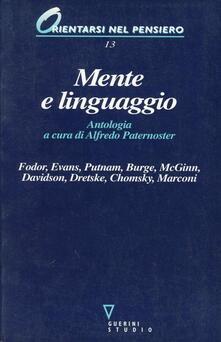 Tegliowinterrun.it Mente e linguaggio Image