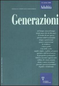 Adultità. Vol. 12: Generazioni.