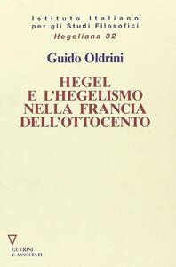 Hegel e l'hegelismo nella Francia dell'Ottocento