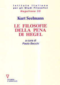 Le filosofie della pena di Hegel