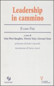 Leadership in cammino. Il caso Fiat