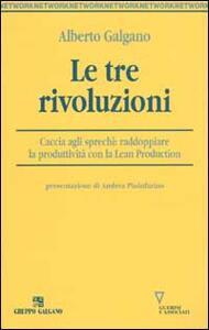 Le tre rivoluzioni. Caccia agli sprechi: raddoppiare la produttività con la Lean Production
