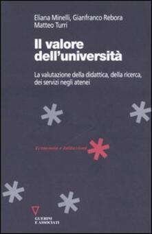 Rallydeicolliscaligeri.it Il valore dell'università. La valutazione della didattica, della ricerca, dei servizi negli atenei Image