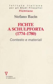 Adiaphora.it Fichte a Schulpforta (1774-1780). Contesto e materiali Image