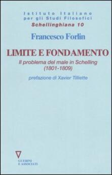 Limite e fondamento. Il problema del male in Schelling (1801-1809).pdf