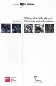 Bibliografia della stampa femminile nella Resistenza