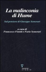 La malinconia di Hume. Sul pensiero di Giuseppe Semerari