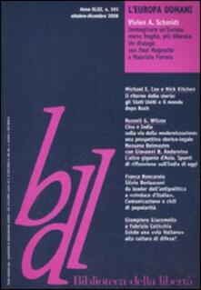 Rallydeicolliscaligeri.it Biblioteca della libertà. Vol. 193: L'Europa domani. Image