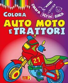 Camfeed.it Colora auto, moto e trattori. Ediz. illustrata Image
