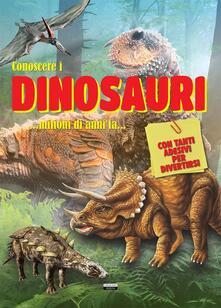 Conoscere i dinosauri. Con adesivi. Ediz. a colori.pdf