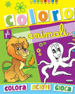 Coloro gli animali. Tutto un mondo di animali da colorare. Vol. 1