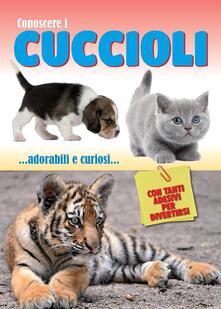 Cocktaillab.it Conoscere i cuccioli. Con adesivi Image