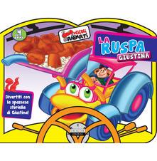 Listadelpopolo.it La ruspa Giustina. Ediz. a colori Image