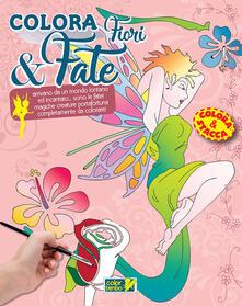 Colora fiori e fate. Ediz. illustrata.pdf
