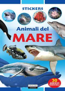 Animali del mare. Con adesivi