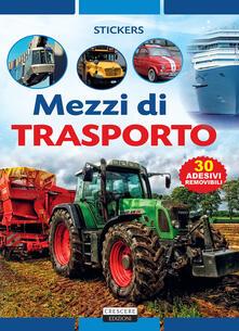 Listadelpopolo.it Mezzi di trasporto. Con adesivi Image