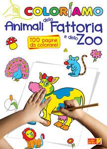 Coloriamo animali della fattoria e dello zoo