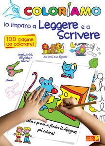 Coloriamo io imparo a leggere e a scrivere