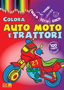 Colora auto, moto e trattori