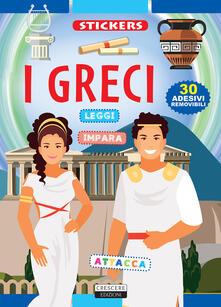 Ristorantezintonio.it I Greci. Con adesivi. Ediz. illustrata Image