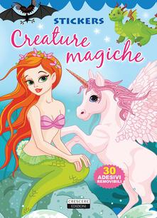 Creature magiche. Con adesivi. Ediz. illustrata.pdf