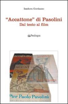 Promoartpalermo.it «Accattone» di Pasolini. Dal testo al film Image