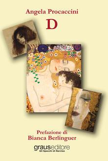 D - Angela Procaccini - copertina