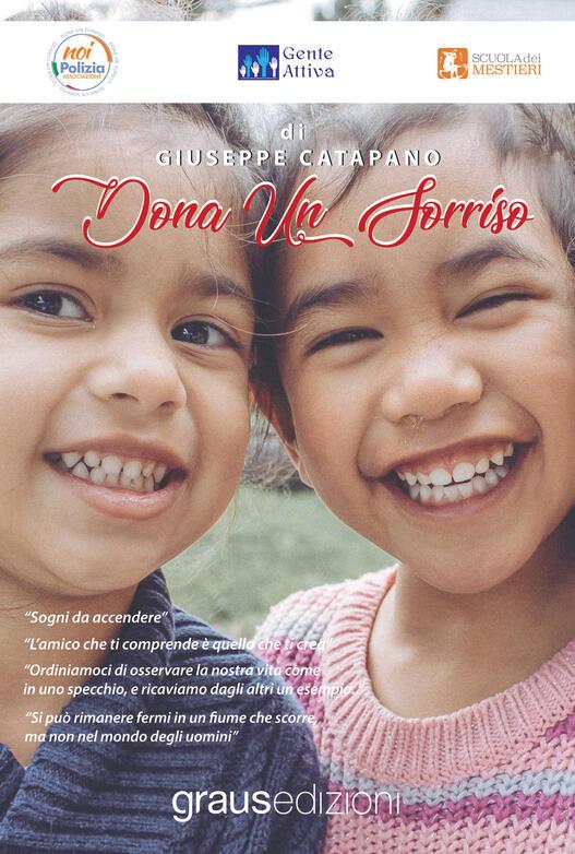 """""""Dona un sorriso"""" a tutte le generazioni con l'ultima opera del Prof. Avv.Giuseppe Catapano(Graus Edizioni)"""