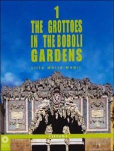 The grottoes in the Boboli gardens