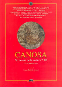 Canosa. Settimana della cultura (12-20 maggio 2007)