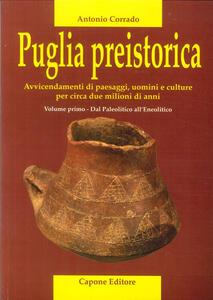 Puglia preistorica. Avvicendamenti di paesaggi, uomini e culture per circa due milioni di anni. Vol. 1: Dal Paleolitico all'Eneolitico.