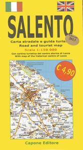 Salento. Carta stradale e guida turistica 1:150.000. Con cartina turistica del centro storico di Lecce. Ediz. italiana e inglese